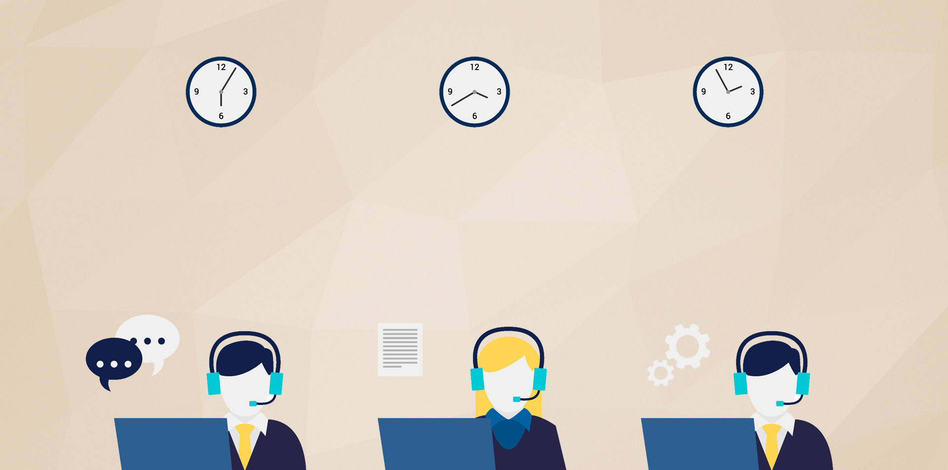 We provide On Call Technical Support